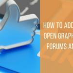 How to Add Facebook's Open Graph Image or og:image For Forums and Threads